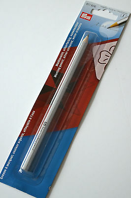 Prym Fabric Marking Pencil ~ Silver ~ Water Erasable Quilting Embroidery Sewing