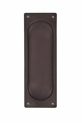 New York Pocket Door Plates Oil Rubbed Bronze
