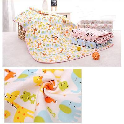 New Reusable Baby Infant Waterproof Urine Mat Cover Burp Changing Pad Durable Q