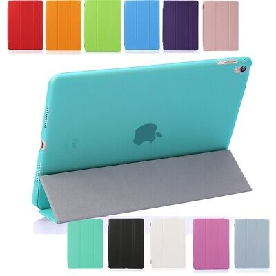 "Smart Cover Leather Case Magnetic Stand For iPad 2/3/4 2018 9.7"" Air mini Lot UK"