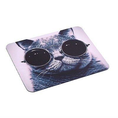 Cat Picture Anti-Slip Laptop PC Mice Pad Mat Mousepad For Optical Laser Mouse GO