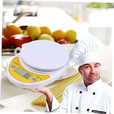 WH-B04 5kg/1g LCD Digital Electronic Kitchen Scale for Food Balance Weighing GO