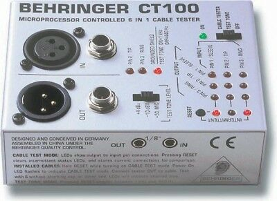 Behringer Cable Tester CT100 ZB021