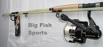 BERKLEY 7' GLOWSTIK Fishing Spinning Combo Rod and Reel BRAND NEW! #GSS702M-PMC
