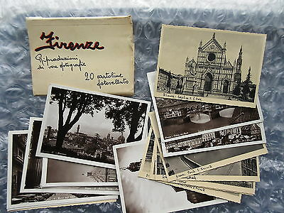 18 Old Vintage Postcards Firenze Florence Italy