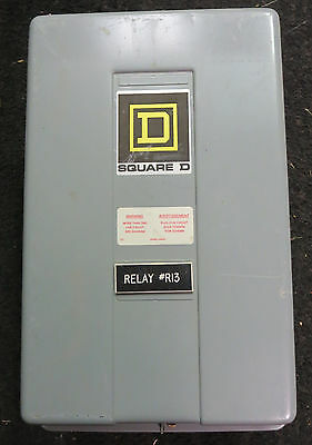Square D  8903 LG60 Lighting Contactor Series D 6 Pole