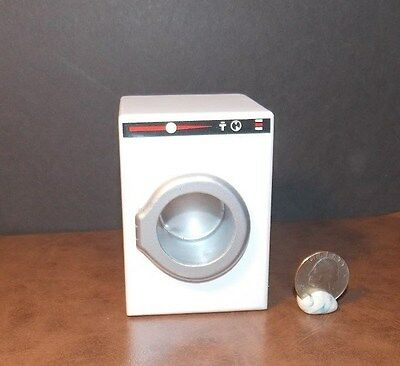 Dollhouse Miniature Modern Washer Washing Machine 1:12 one inch scale D17