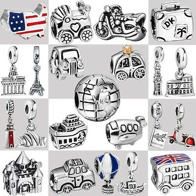 2018 Genuine Fine European Charms For Fashion Silver 925 Sterling Bead Bracelet