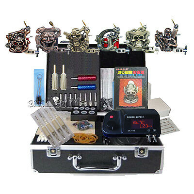 High Quality Tattoo Power Supply 6 Machine Kits Tatoo Equipment All Sets