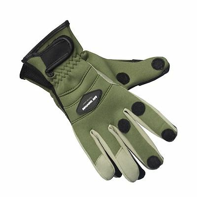 Ron Thompson Crosswater Neoprene Fishing Shooting Hunting Gloves  M L Xl