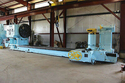 "144"" (12') x 648"" (54') MESTA HEAVY-DUTY ENGINE LATHE - #27649"