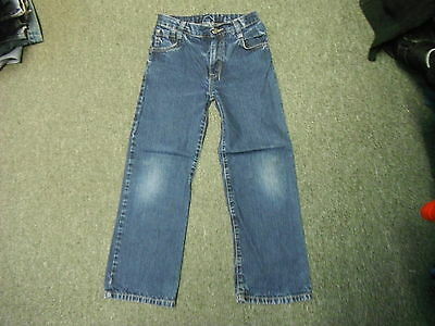 "Next Bootcut Jeans Waist 25"" Leg 23"" Faded Dark Blue Boys 9 Yrs Jeans"