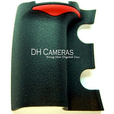 Nikon D700 Front Main Grip Rubber Unit Replacement Part New + Tape Adhesive