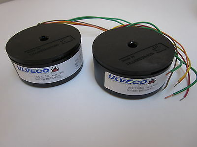 Uvelco Toroidal Transformer Type N10373, 110V - LOT of 2