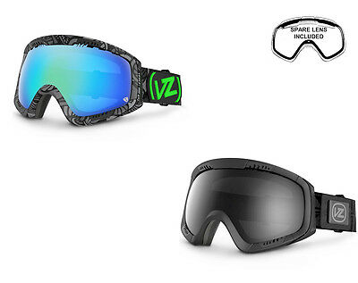 VonZipper Snowboard Goggles - Feenom - With Spare Lens Included