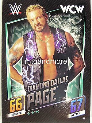 Slam Attax Then Now Forever - #187 Diamond Dallas Page