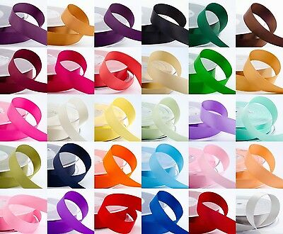 Luxury Best Quality Cut Lengths Double Sided Satin Ribbon 3mm 6mm 10mm 16mm 25mm