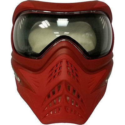 V-Force Grill Special Color Thermal Paintball Mask - Red on Red  - NEW