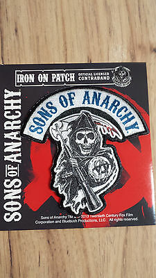 New Sons Of Anarchy S.O.A. Logo Patch FX Channel S.O.A. Biker Samcro