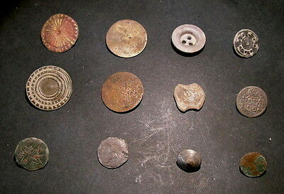 Medieval Spanish Antique Buttons