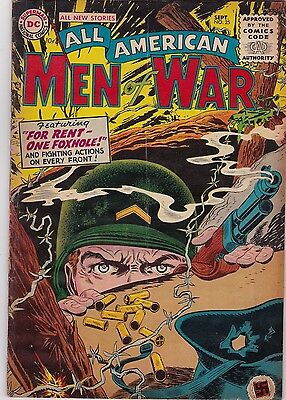 All American Men of War #25 VG 4.0 1955 DC See My Store