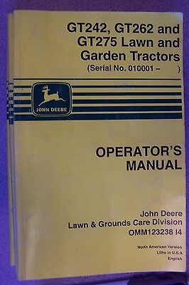 John Deere Gt Gt And Gt Lawn And