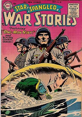 Star Spangled War Stories #38 VG 4.0 1955 DC See My Store