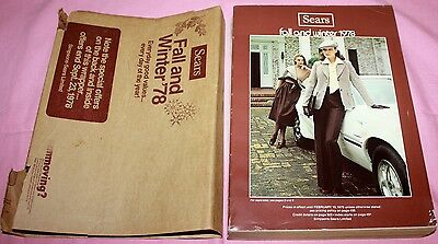 Vintage Simpsons-Sears Fall & Winter Catalog 1978-Sears/mailing Cover