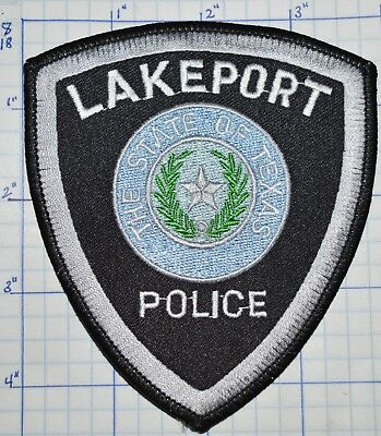 Texas, Lakeport Police Dept Patch