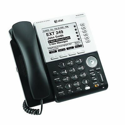 AT&T Synapse SB67030 SB67031 Business Phone with DECT 6.0 and Large Display