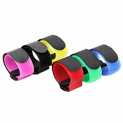 Fad 5 Pcs Reusable Hook Buckle Tape Strap Self Adhesive For Lipo Battery