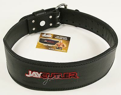 Jay Cutler Signature SCHIEK J2014 Leather Padded Weight Lifting Belt - PICK SIZE