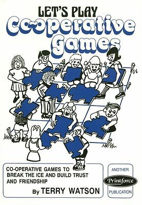 Lets Play Co-Operative Games Book For Youth Scout Guide Leaders