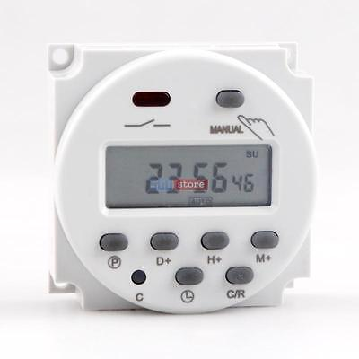 LCD Digital Power Programmable Timer AC 110V 16A Time Relay Switch