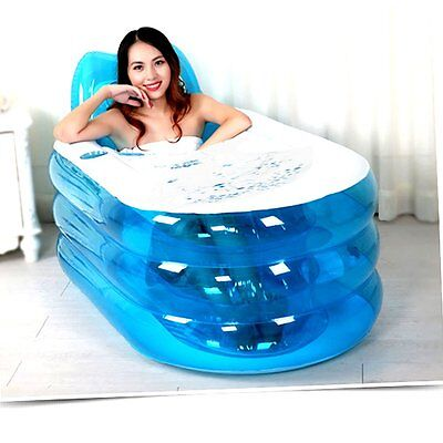Good Foldable Durable Adult SPA Inflatable Bathtub PVC With Electric Air Pump
