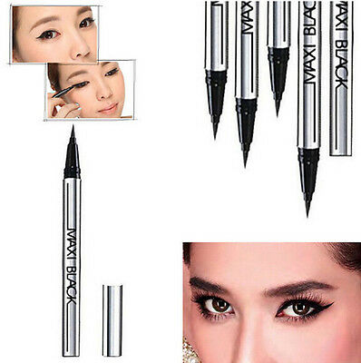 Waterproof Eyeliner Black Beauty Liquid Eye Liner Pen Pencil Makeup Cosmetic HOT