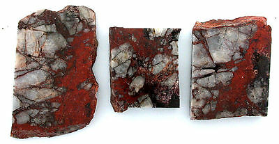 137.7 Grams 3 Arizona Cuprite Agate Cab Cabochon Slab Gem Gemstone Rough acas2