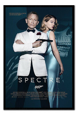 Framed James Bond Spectre Film Movie One Sheet 007 Poster New