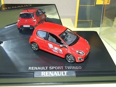 RENAULT TWINGO II RS LHD Rouge NOREV 1:43