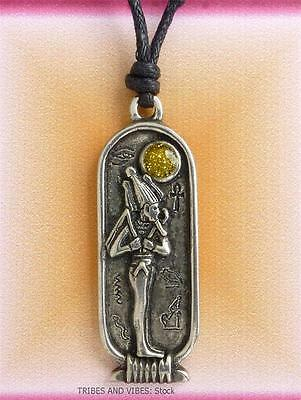 OSIRIS Egyptian Zodiac Pendant Necklace 27 March to 25 April Aries Taurus 2sides