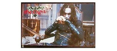 THE CROW ~ CHAIR 23x35 MOVIE POSTER Brandon Lee NEW/ROLLED!