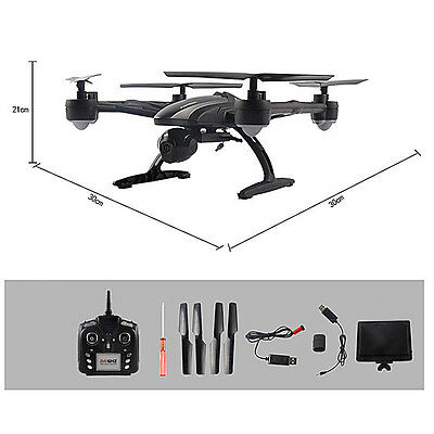 JXD 509G Drone RC Quadcopter Helicopter 5.8GHz 4CH 360° Flips 2.0MP Camera FPV
