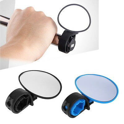 Bike Bicycle Cycling Rear View Mirror Handlebar Flexible Safety Rearview GO