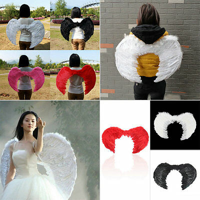Feather Fairy Angel Wings Party Halloween Fancy Dress Costume Accessory GO