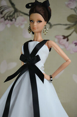 New Handmade Fashion Princess Party Dress Clothes for barbie doll