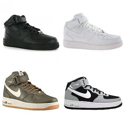 Nike Air Force 1 Mid 07 Leather Mens Trainers