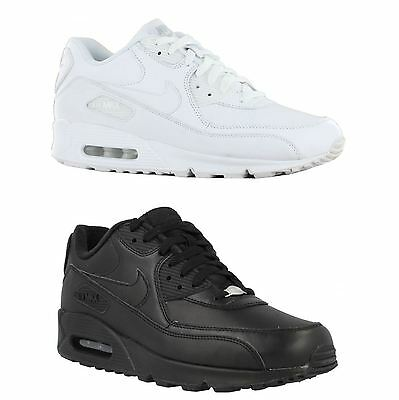 Nike Air Max 90 LTR Leather Mens Trainers