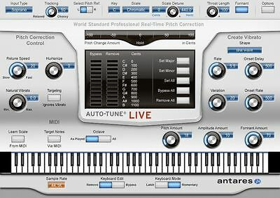 Antares Auto Tune Live MacOS/ Windows Pitch Correction Software--Download