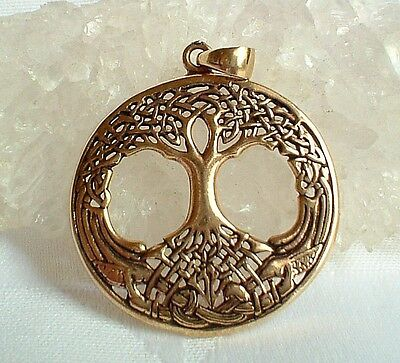 Burnished Bronze Tree of Life Pendant Necklace~Wicca~Spirit~Reiki~Pagan~Shaman