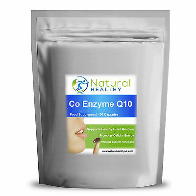 Co-Enzyme Q10 Coenzyme CoQ10 500mg Complex Formula Antioxidant Heart Energy pill